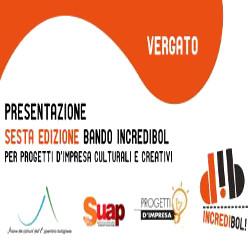 Presentazione sesta edizione del bando Incredibol! e seconda edizione del Premio Barresi a Vergato (BO)