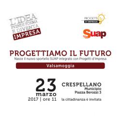 23 marzo | Inaugurazione a Crespellano del nuovo sportello integrato SUAP – Progetti d'impresa di Valsamoggia