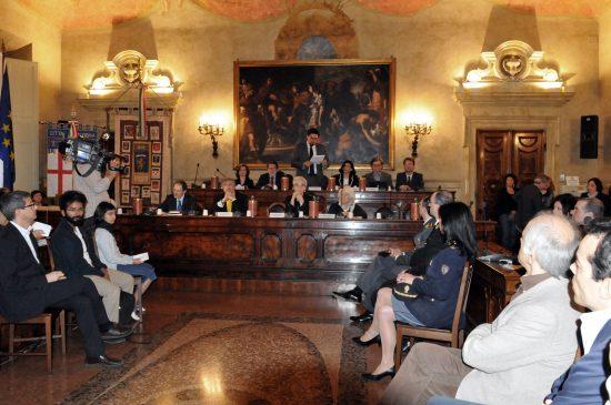 Seduta congiunta dei Consigli provinciale e comunale - Lunedì 14 maggio 2012