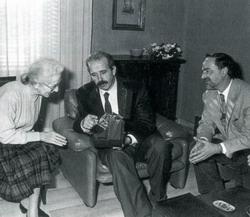 Maria Teresa Morandi, Renzo Imbeni e Lamberto Cotti