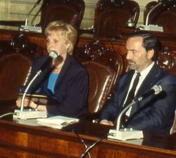 Rosanna Rossi e Lamberto Cotti