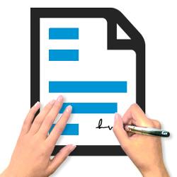 Istruzioni operative da seguire in caso di firma errata oppure problemi con la pratica a causa della firma.