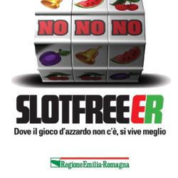 Marchio Slot FreE-R. Campagna di sensibilizzazione contro la diffusione del gioco d'azzardo.