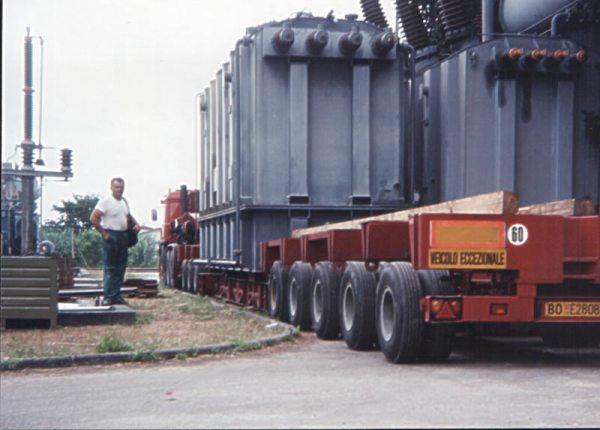 trasporto generatore corrente elettrica