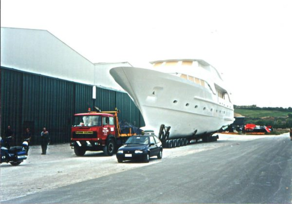 trasporto natante
