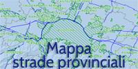 Mappa delle strade provinciali