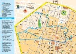 Bologna Cartina Geografica.Turismo Bologna Mappa E Itinerari Turistici