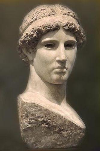 Bologna - Museo Civico Archeologico, Busto di Athena Lemnia - foto di Paolo Barone