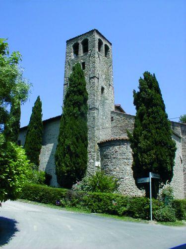 Casalfiumanese - Chiesa romanica di Riviera - foto di Comune di Borgo Tossignano