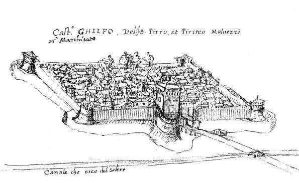Castel Guelfo - Castel Guelfo al tempo dei Malvezzi - foto di archivio Comune di Castel Guelfo