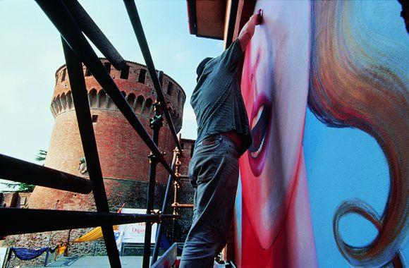 Dozza - Biennale del muro dipinto - foto di S.T.A.I.