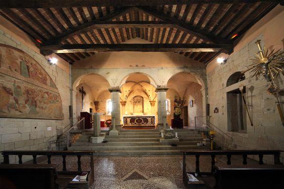 Grizzana Morandi - Chiesa di Montovolo, interno - foto di Paolo Barone
