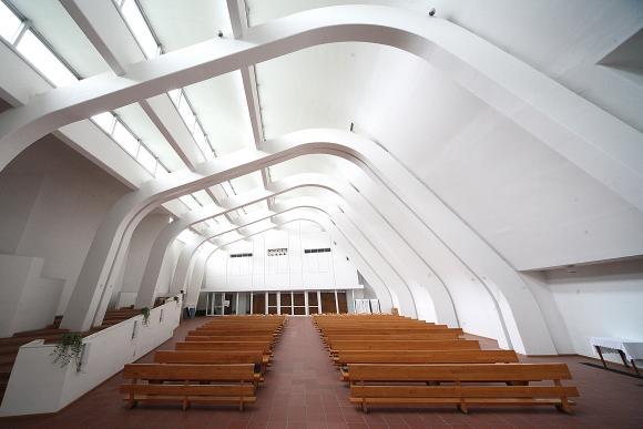 Grizzana Morandi, Riola - Chiesa di S.Maria Assunta di Alvar Aalto - foto di Paolo Barone