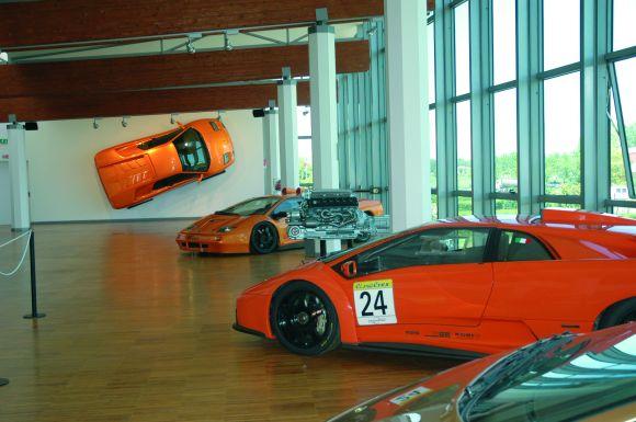 Sant'Agata Bolognese - Museo Lamborghini - foto di Provincia di Bologna, Guido Avoni