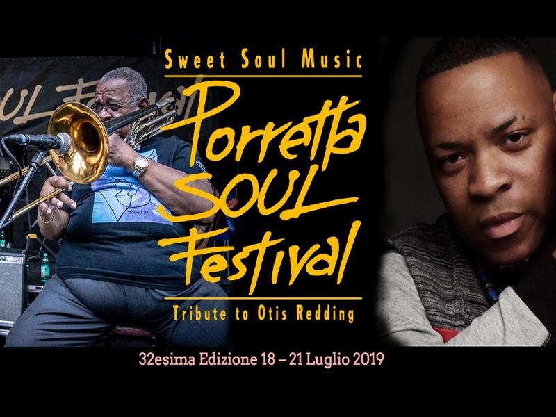 PORRETTA SOUL FESTIVAL, 32esima edizione tributo a Otis Redding