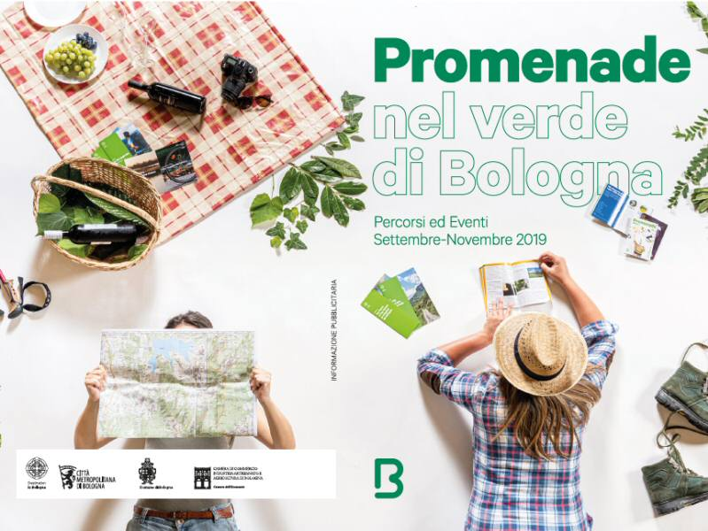 Promenade nel Verde di Bologna. Percorsi ed eventi. Settembre-Novembre 2019