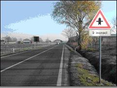 Circolare 1.    segnali di precedenza - intersezioni