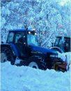 Nevicata 2012, uomini e mezzi della Provincia al lavoro