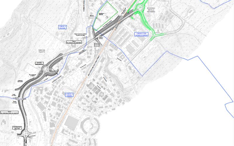 Nodo di Rastignano - 2° Lotto Completamento della variante alla SP 65 della Futa mediante realizzazione dell'asta principale svincolo di Rastignano - Ponte delle Oche